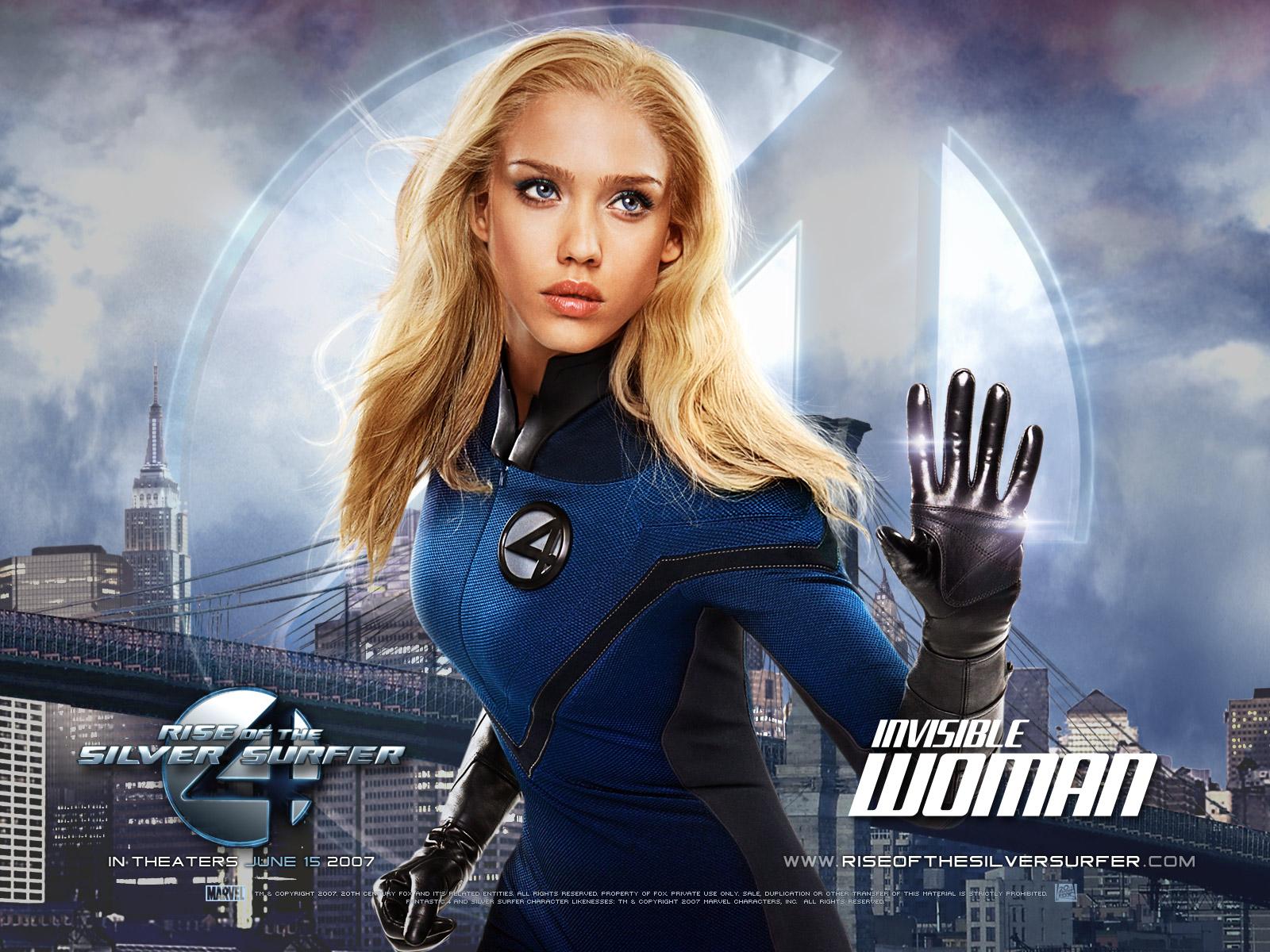 Jessica alba as susan storm fantastic four even - Femme invisible 4 fantastiques ...
