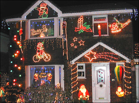 Beautiful Christmas House Lights To The Extreme Now If I