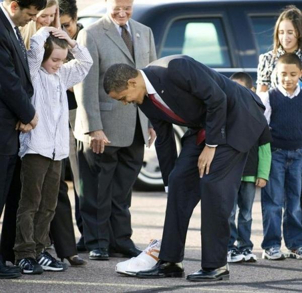 President Barack Obama Receives Gift From Basketball Giant