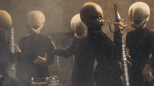 Músicos de la cantina, Stars Wars