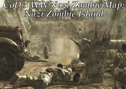 CoD5 WaW Nazi Zombie Map: Nazi Zombie Island! Zombies Can Finally ...