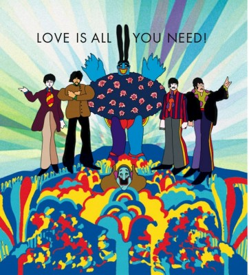 Love Picture on Love Is Really All You Need     All You Need Is Love     The Beatles