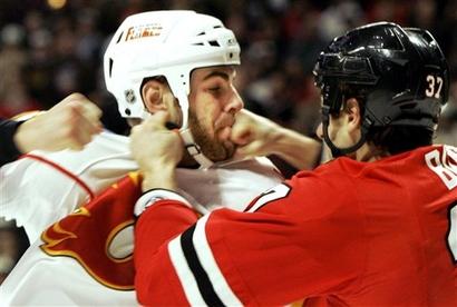 Hockey Player Gets Throat Slit 34