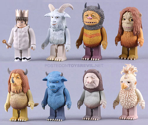 Messages toys where the wild things are