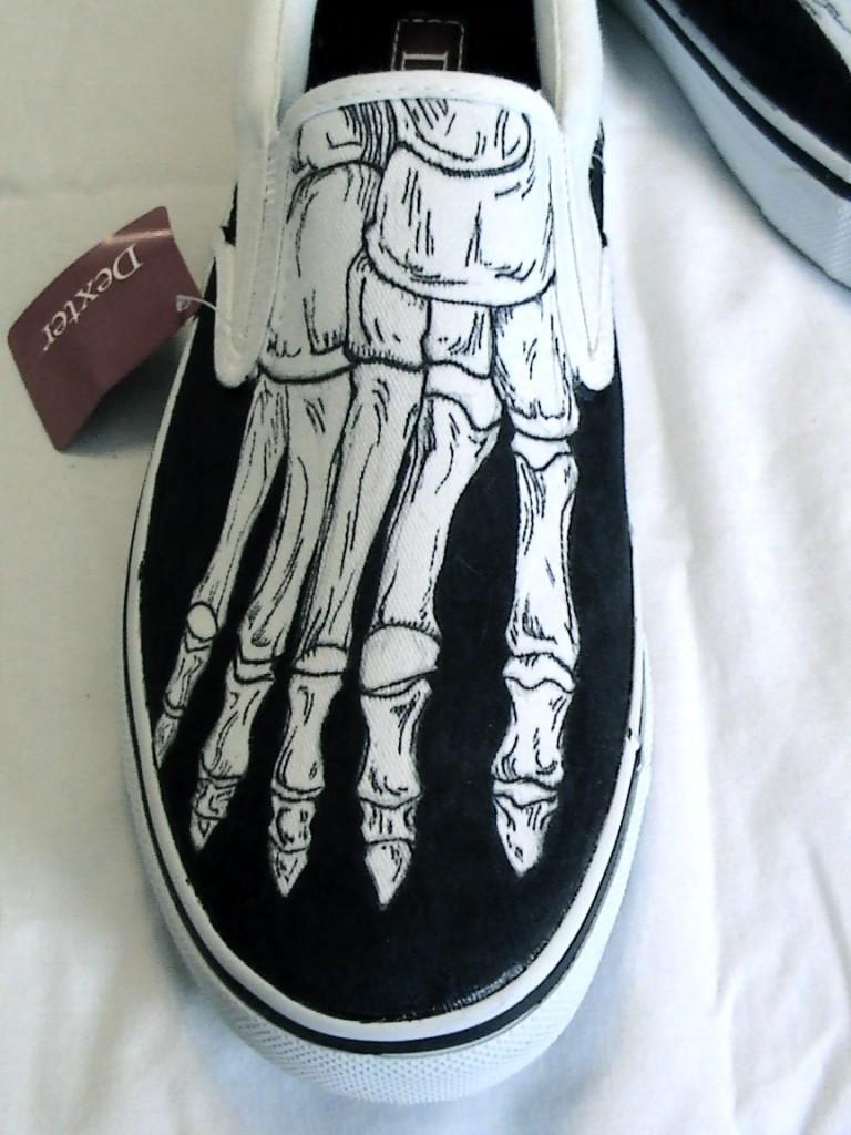 Skeleton Feet Shoe By Squarepeg X Ray On Me Feet