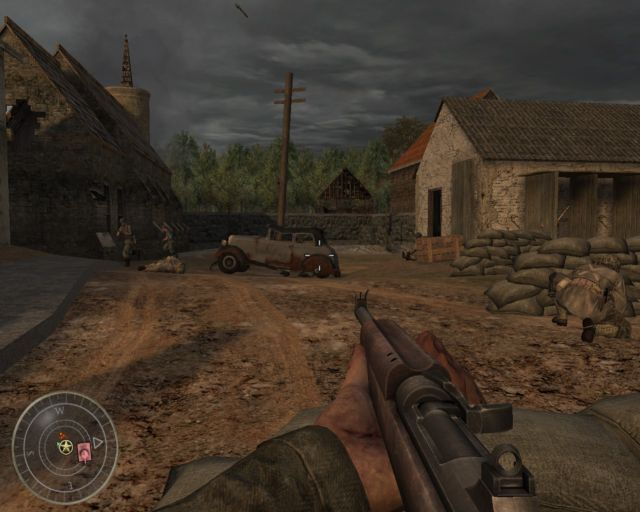 Call of Duty: World at War Campaign Map: Dawnville, Developed ...