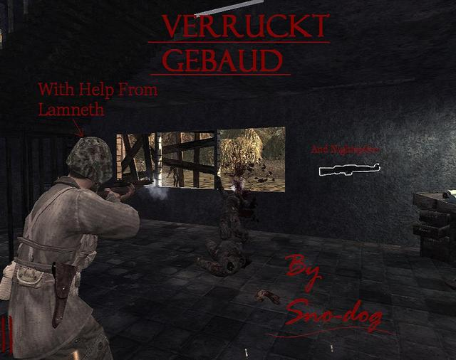 Call of Duty 5 Nazi Zombie Map: Verruckt Gebaud, Published & Created ...