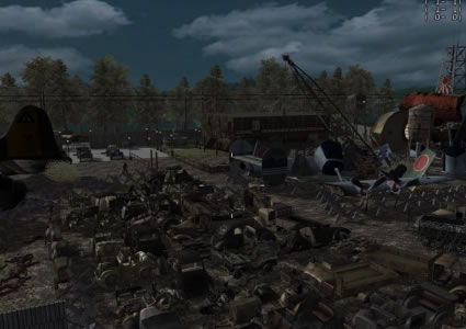 Call of Duty World at War Map: Zombie Junkyard (Beta ... Call Of Duty World At War Zombie Maps on