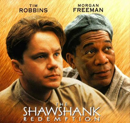 Speed Drawing Morgan Freeman & Tim Robbins, From Shawshank Redemtion w/ 2