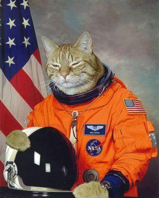 Gagarin membuat sejarah dengan menjadi orang pertama di luar angkasa ...