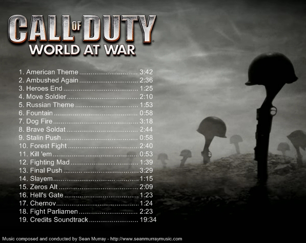 Call of Duty: World at War OST