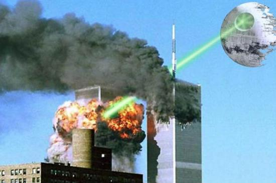 Star Wars 911 Death Star. Everyone has to deal with 9/11 these days,