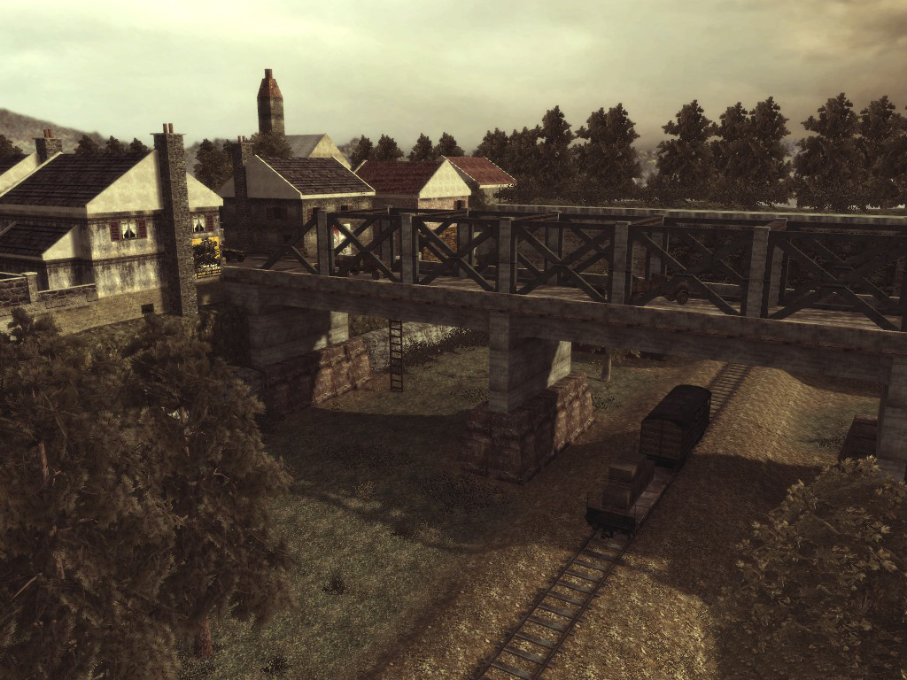 Call of Duty World at War Multiplayer Map: Renan Bridge, Developed ...