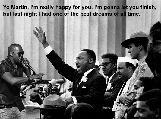 martin luther king jr i have a dream speech on paper