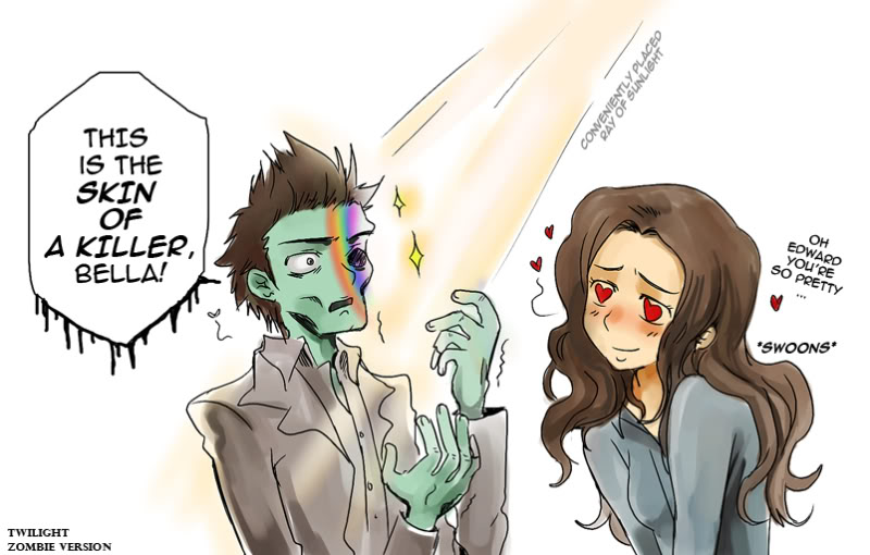 Attack Of The Show Spoof On Twilight What Should Of
