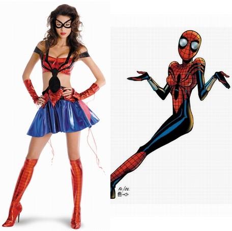 Marvel Halloween w/ Hot Spidergirl, Emma Frost, Venom, Capta