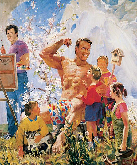 pictures of arnold schwarzenegger children. Arnold-Schwarzenegger-