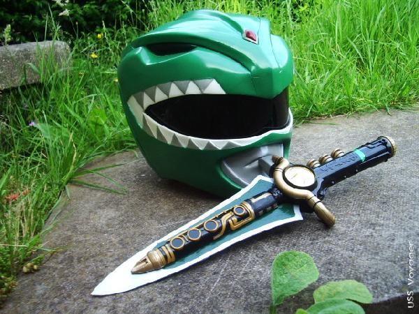 Mighty Morphin Power Rangers? Green Dragon (Power) Ranger