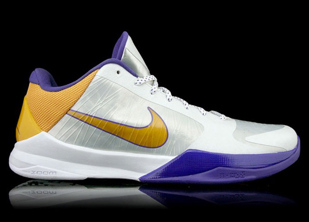 new products b6bf2 d0a6c nike kobe 5 white gold