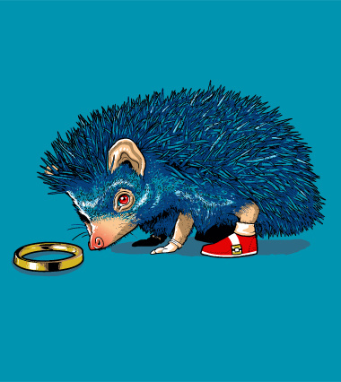 Honey Where Is My Ring Design By Obrunomota Real Life Sonic The Hedgehog On T Shirt