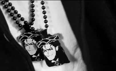 The Michael Jackson Jesus Piece By Mr. Tastees Michael Jackson Jesus Necklace Design By MrTastees. 2 Great Kings Mashed Together, King of Pop, King of the Jews.