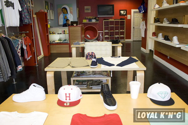 Streetwear clothing stores