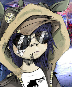 KittenXKawaii's Characters!!!! Gorillaz-Cyborg-Noodle.-Super-Short-Animated-Video-on-Gorillaz-Noodle