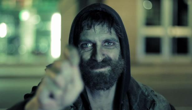 Image result for momentos, homeless man