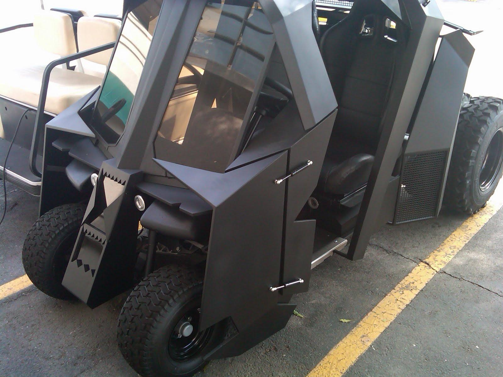 Christopher Nolan Finds Batman Golf Cart Batmobile