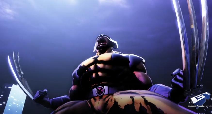 E3 2010 Marvel Vs Capcom 3 Trailer W Wolverine