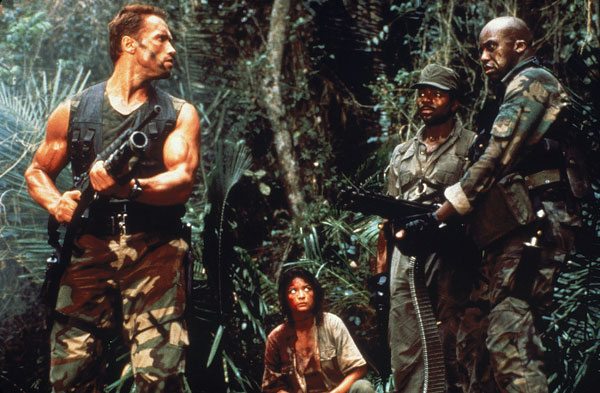 "Arnold Schwarzenegger Original ""Predator"" Rap Film Through ..."