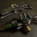 Fallout 3 energy weapons a3-21 plasma rifle, aer9 laser rifle specialist