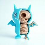 jason freeny moist production anatomy sculpture ugly icebat doll