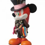 disney medicom toy mashup vcd mickey mouse madhatter alice in wonderland  vinyl collectible doll 1