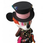 disney medicom toy mashup vcd mickey mouse madhatter alice in wonderland  vinyl collectible doll