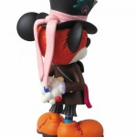disney medicom toy mashup vcd mickey mouse madhatter alice in wonderland  vinyl collectible doll 2