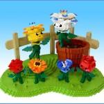 lets-brick lego scultpures sachiko little ida flowers hc anderson