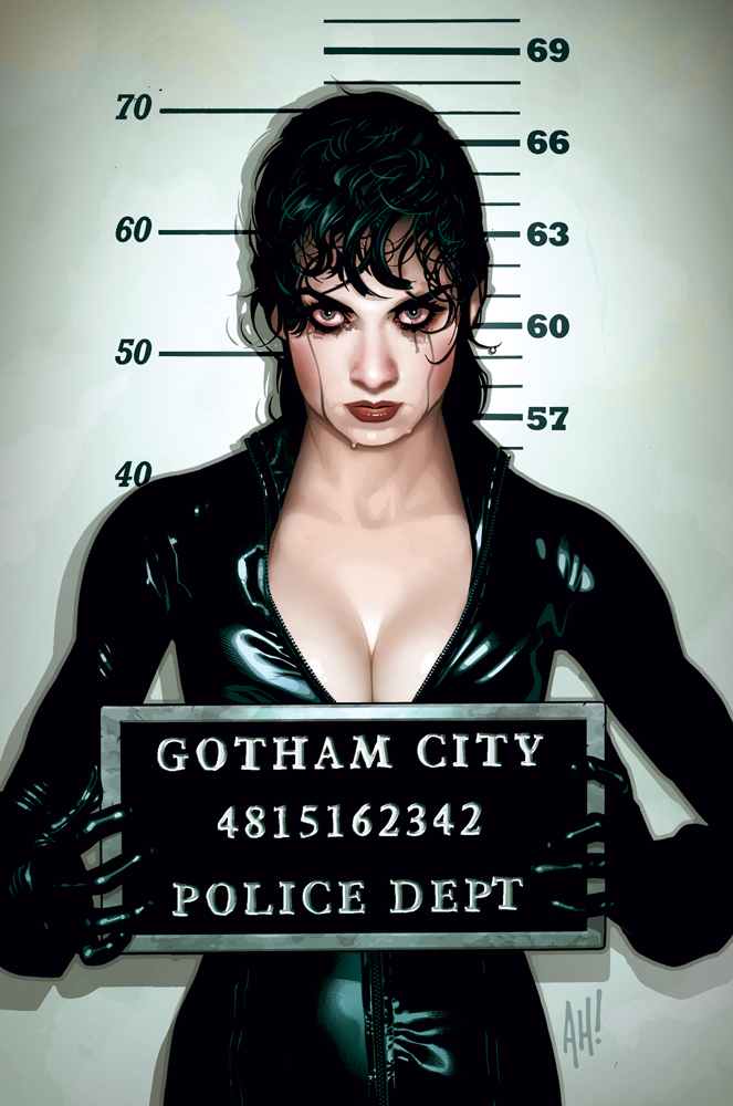 the new Catwoman in the upcoming Dark Knight Rises. Anne Hathaway is a
