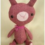 elbooga pink bunny plushi louise
