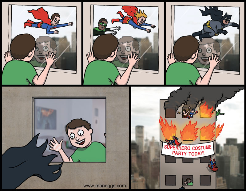 funny superhero comics - photo #34
