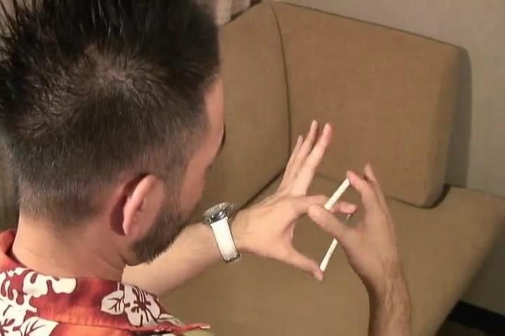 Как сделать левитацию сигареты