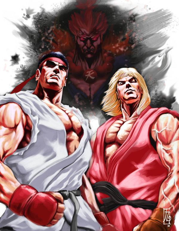 Street Fighter 4 Sf4 Fan Art Illustration By Earache J