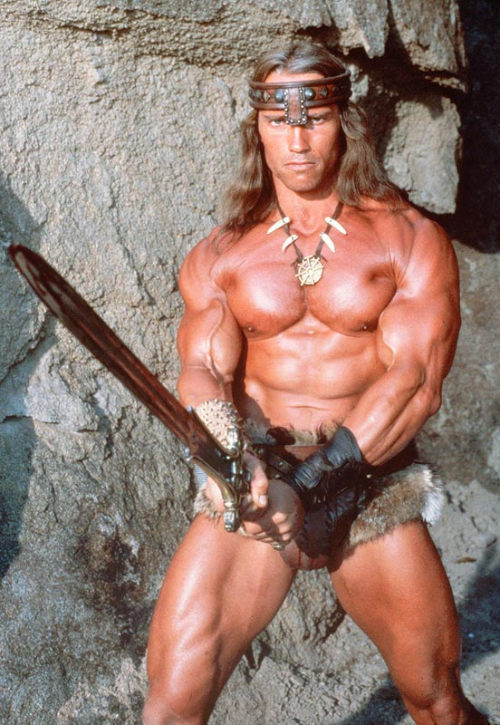 """Arnold Schwarzenegger Vs. Jason Momoa, """"Conan The Barbarian 2011 ..."""