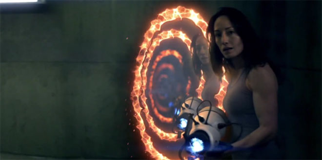 Portal No Escape Cinematic Short Movie Watch Chell Find