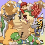 Absolute_Loser_by_MasaBowser Nintendo's Bowser Artwork by MasaBowser! The Art of the Life of Mario's Peach Stealing King Bowser Koopa