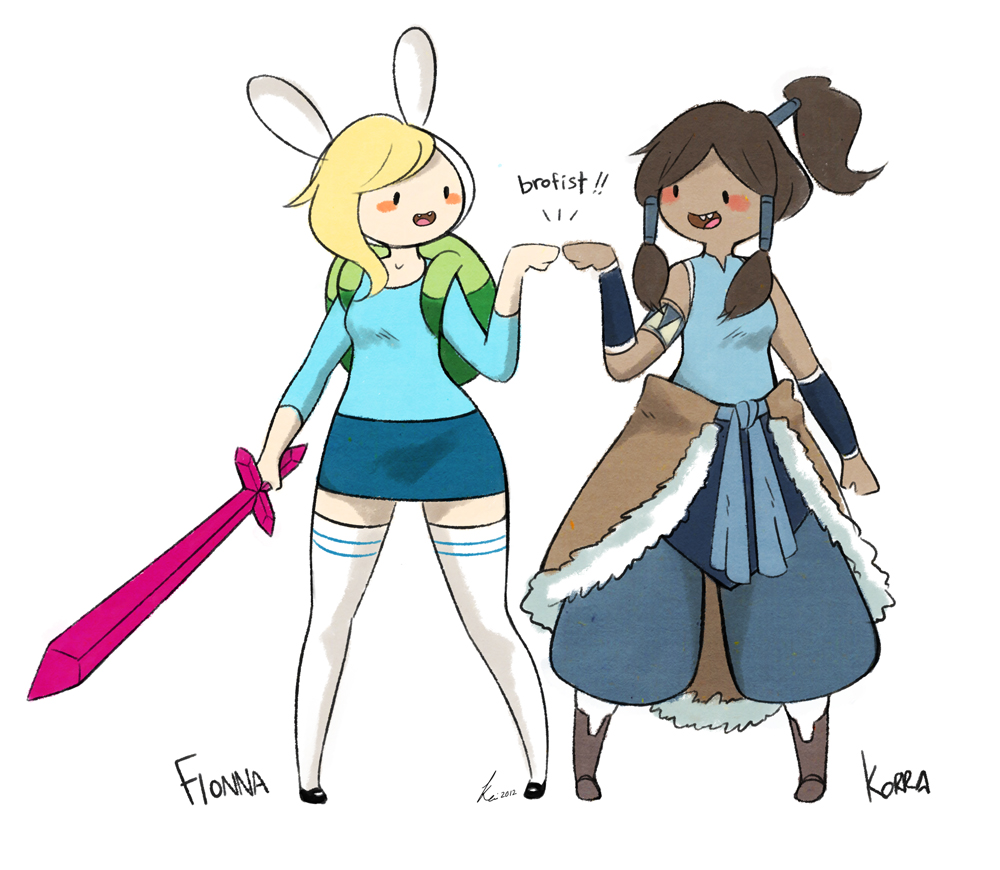 Adventure Time X The Legend Of Korra! Get In Touch With