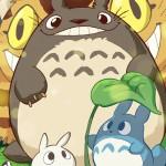 Studio Ghibli Fan-Art by Kevin Bolk, Featuring Totoro, Kiki, Mononoke, Nausica, Howl's Moving Castle & More