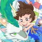 Studio Ghibli Fan-Art by Kevin Bolk, Featuring Totoro, Kiki, Mononoke, Nausica, Howl's Moving Castle & More1