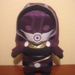 Mass Effect Custom Plushies by ViciousPretty! Featuring Garrus, Liara, Tali, Wrex, Legion, & Mordin1