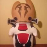 Mass Effect Custom Plushies by ViciousPretty! Featuring Garrus, Liara, Tali, Wrex, Legion, & Mordin3